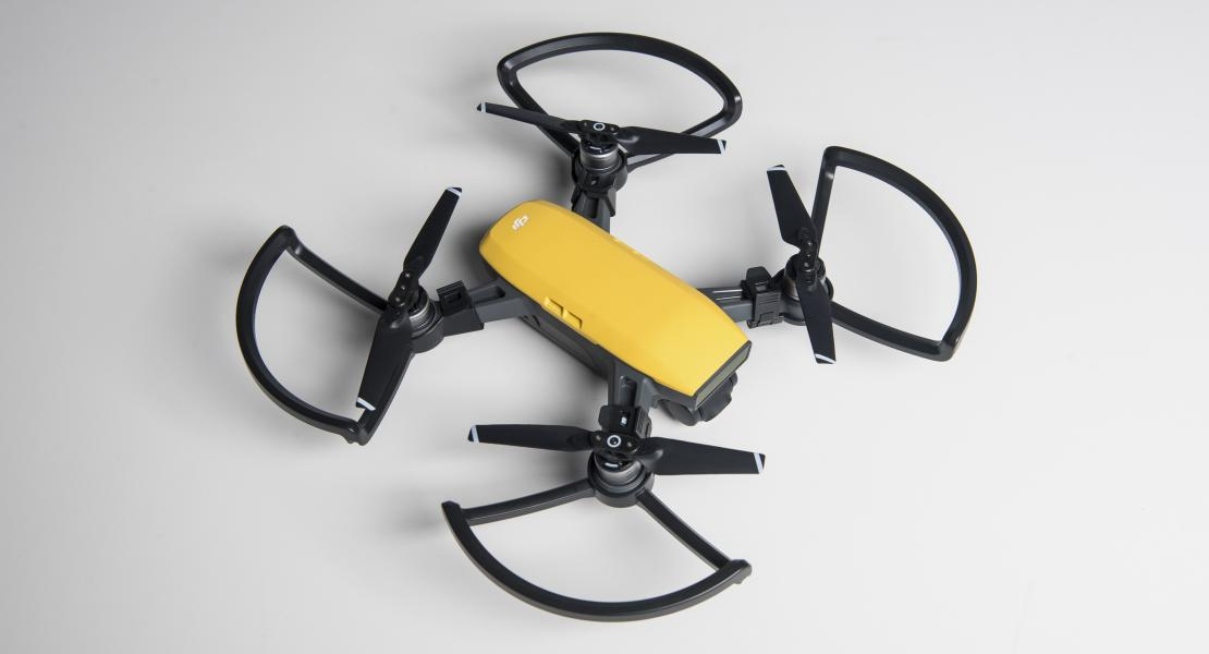 DJI Spark with Propeller Guards